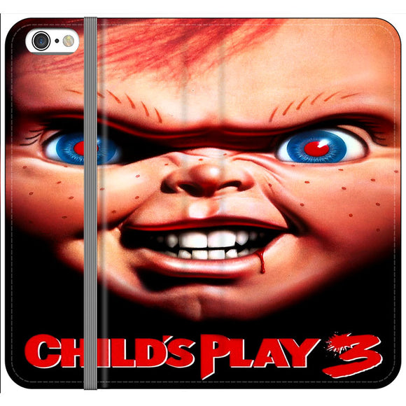 Childs Play 3 Poster iPhone 6 Plus|6S Plus Flip Case | Frostedcase