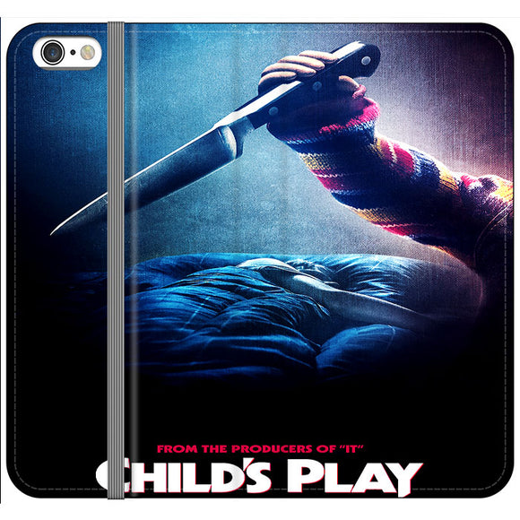 Childs Play From The Producers Of It iPhone 6 Plus|6S Plus Flip Case | Frostedcase