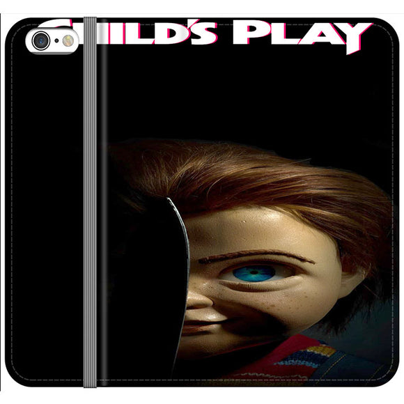 Childs Play Poster Movie iPhone 6 Plus|6S Plus Flip Case | Frostedcase