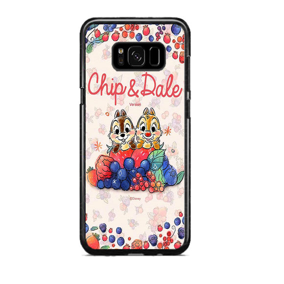 Chip And Dale Disney Fruit Samsung Galaxy S8 Plus Case | Frostedcase