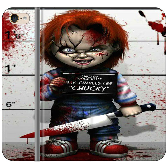 Chucky Doll Horror Movie iPod 6 Flip Case | Frostedcase