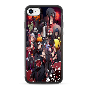 Collection Of Heroes Akatsuki iPhone 8 Case | Frostedcase