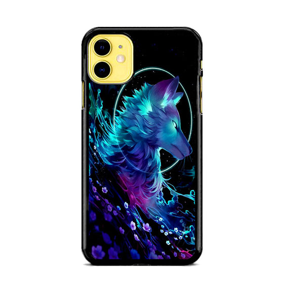Cosmic Wolf Of Galaxy iPhone 11 Case | Frostedcase