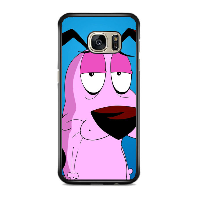 Courage The Cowardly Dog Samsung Galaxy S7 EDGE Case | Frostedcase