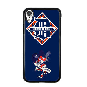finest selection 1b1b5 6e76c Detroit Tigers Baseball iPhone XR Case | Frostedcase