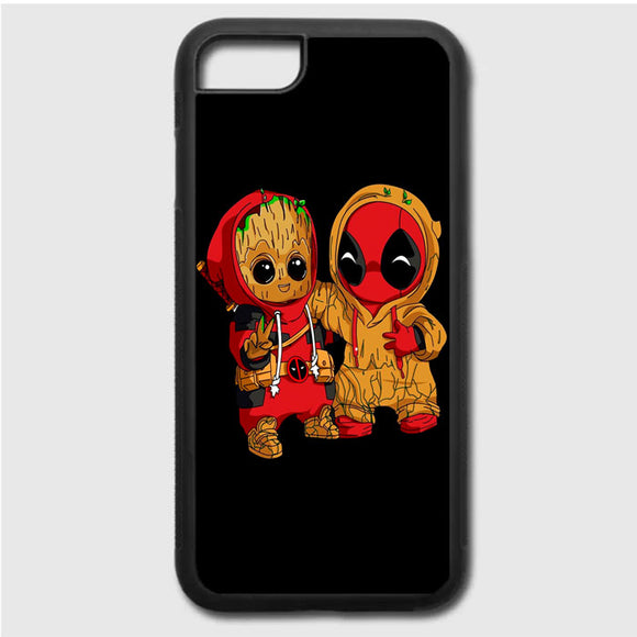 Deadpool X Groot iPhone 7 Case | Frostedcase