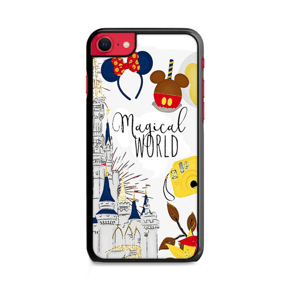 Disney Magical World Art iPhone SE Case | Frostedcase
