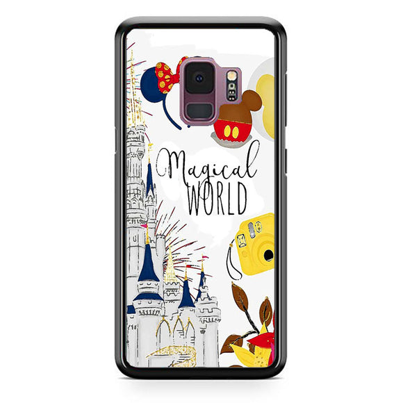 Disney Magical World Art Samsung Galaxy S9 Case | Frostedcase