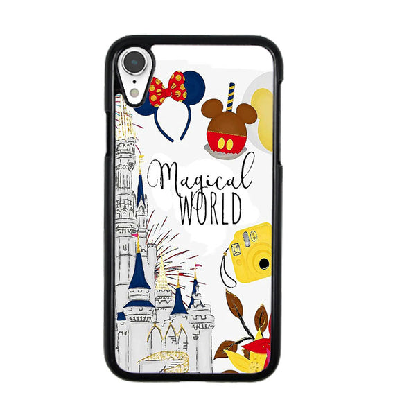 Disney Magical World Art iPhone XR Case | Frostedcase