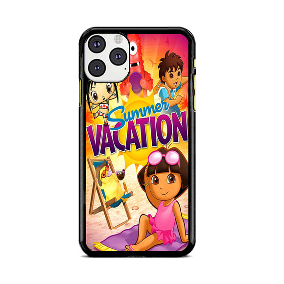 Dora Expoler Summer Vacation iPhone 11 Pro Max Case | Frostedcase