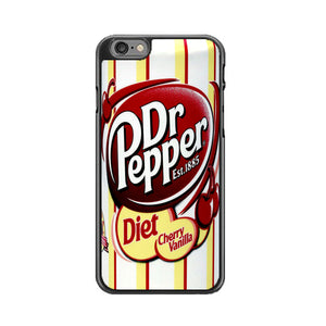Dr Pepper Diet Chery Vanilla iPhone 6|6S Case | Frostedcase
