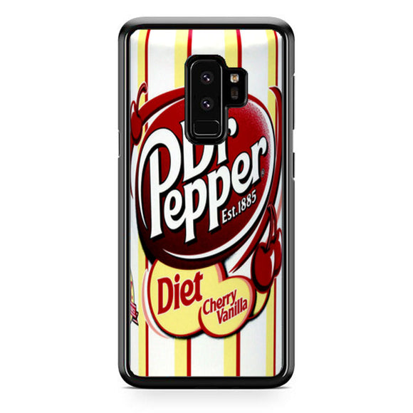 Dr Pepper Diet Chery Vanilla Samsung Galaxy S9 Plus Case | Frostedcase