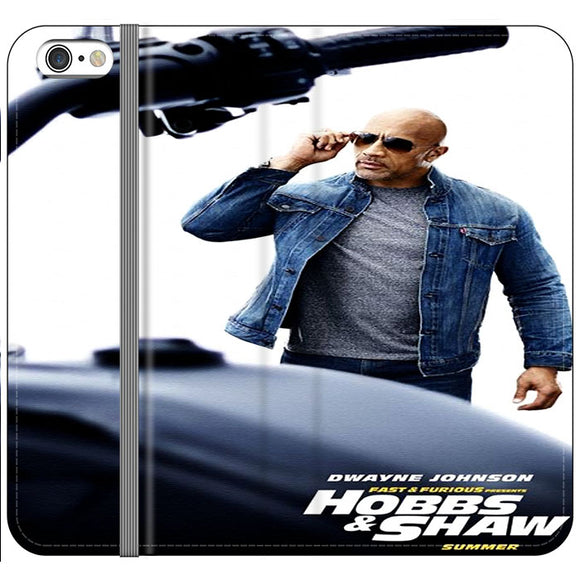 Dwayne Johnson Fast & Furious X Hobbs & Shaw Summer iPhone 6 Plus|6S Plus Flip Case | Frostedcase
