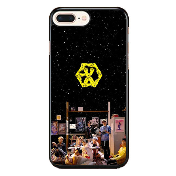 Exo Photoshoot Night In The Library iPhone 7 Plus Case | Frostedcase