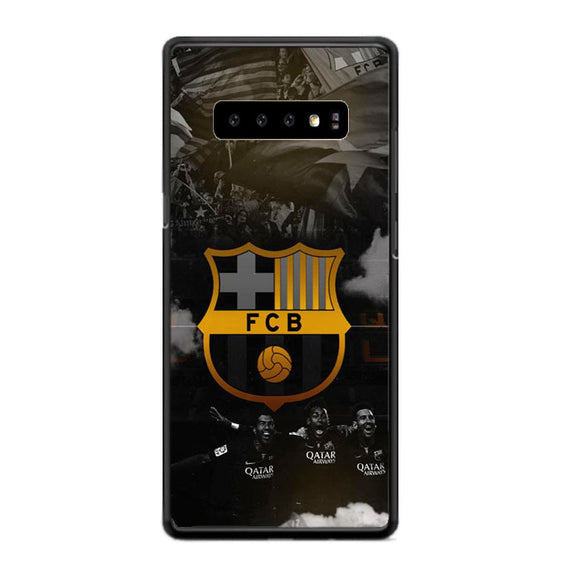 Fcb  Barcelona Samsung Galaxy S10 Plus Case | Frostedcase