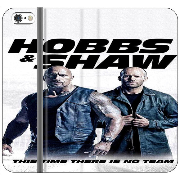 Fast & Furious Hobbs & Shaw Poster Movie iPhone 6 Plus|6S Plus Flip Case | Frostedcase