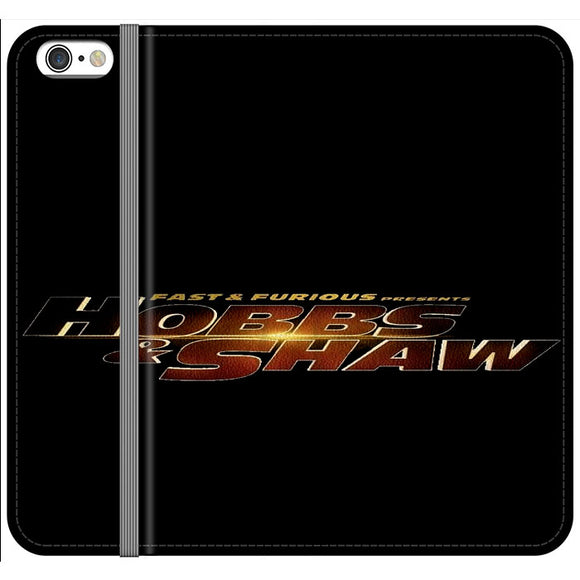 Fast & Furious Hobbs And Shaw Presents Logo Type iPhone 6 Plus|6S Plus Flip Case | Frostedcase