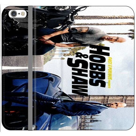 Fast & Furious X Hobbs & Shaw Summer Poster Movie Canvas iPhone 6 Plus|6S Plus Flip Case | Frostedcase