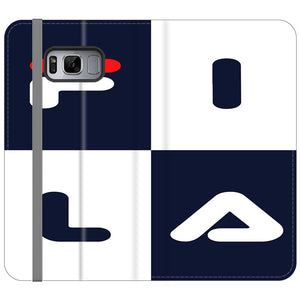 Fila Art Square Samsung Galaxy S8 Plus Flip Case | Frostedcase