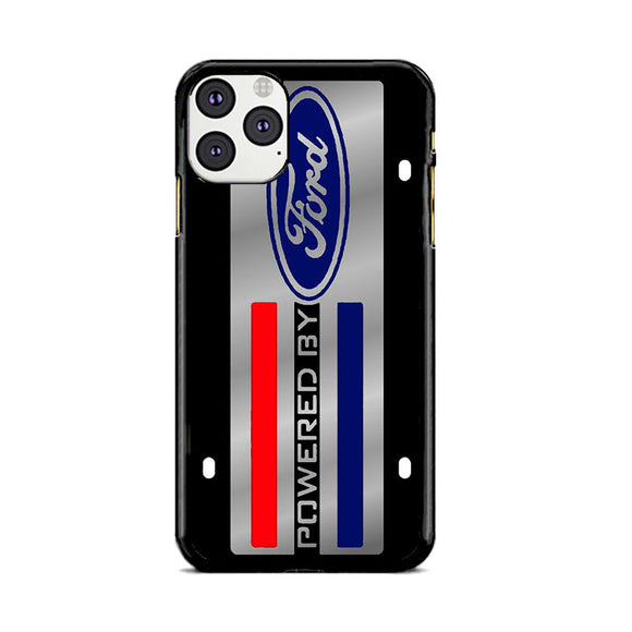 Ford Powered Black Art Plate iPhone 11 Pro Max Case | Frostedcase