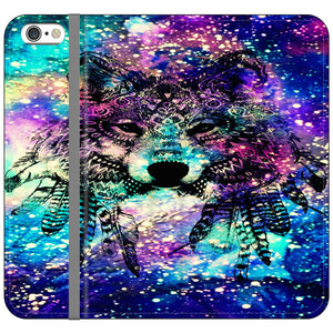 Fox Indian Galaxy iPhone 6 Plus|6S Plus Flip Case | Frostedcase