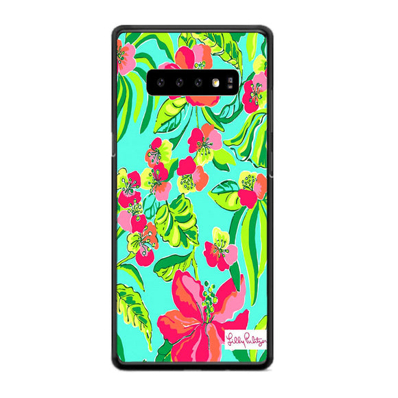 Fritillaria Imperialis Flowers Pattern Lilly Pulitzer Samsung Galaxy S10e Case | Frostedcase