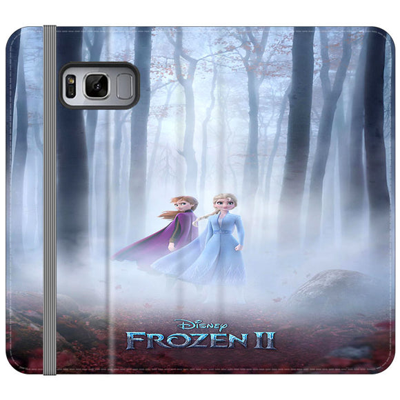 Frozen 2 Poster Movie 2019 Samsung Galaxy S8 Plus Flip Case | Frostedcase
