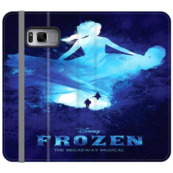 Frozen The Broadway Musical Art Samsung Galaxy S8 Plus Flip Case | Frostedcase