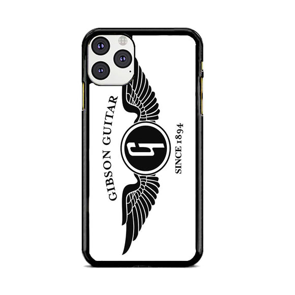 Gibson Guitar Since 1894 Emblem iPhone 11 Pro Max Case | Frostedcase