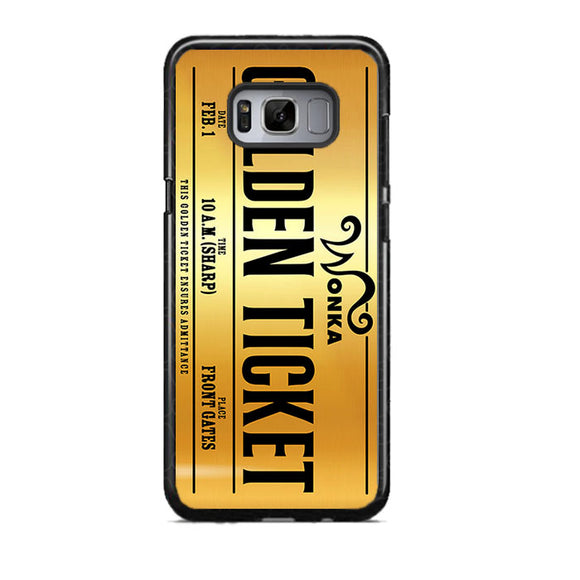 Golden Ticket Chocolate Wonka Samsung Galaxy S8 Case | Frostedcase