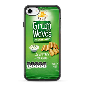 Grain Waves Sour Cream And Chives iPhone 8 Case | Frostedcase