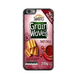 Grain Waves Sweet Chili iPhone 6 Plus|6S Plus Case | Frostedcase