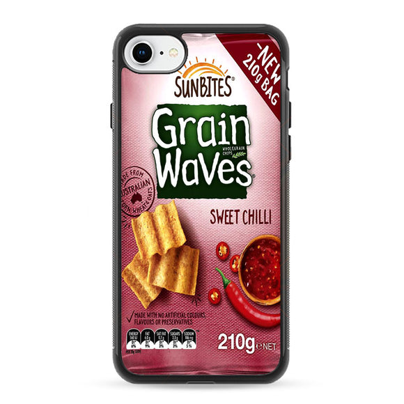 Grain Waves Sweet Chili iPhone 8 Case | Frostedcase