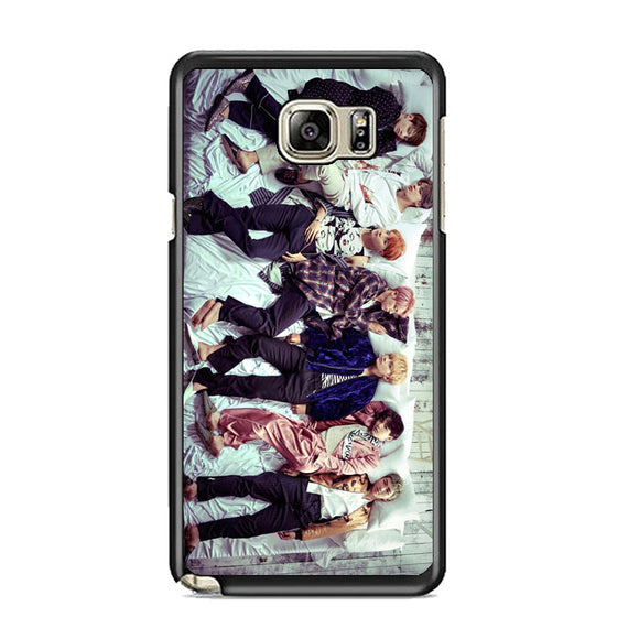 Group Bts Photoshot Samsung Galaxy Note 5 Case | Frostedcase