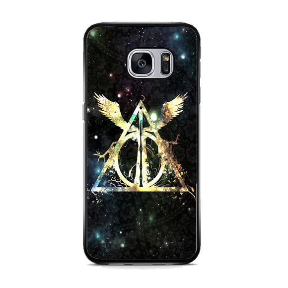Harry Potter Deathly Hallows Symbol Samsung Galaxy S7 Case | Frostedcase