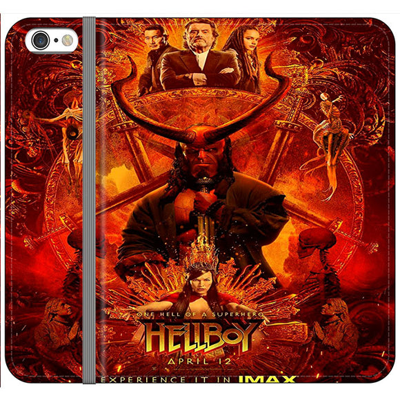Hellboy Poster Movie iPhone 6 Plus|6S Plus Flip Case | Frostedcase