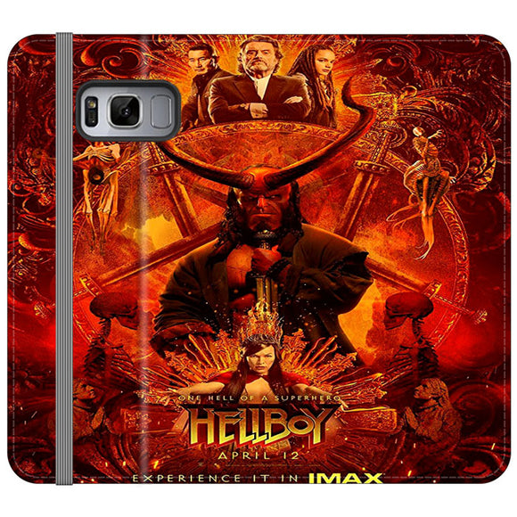 Hellboy Poster Movie Samsung Galaxy S8 Plus Flip Case | Frostedcase
