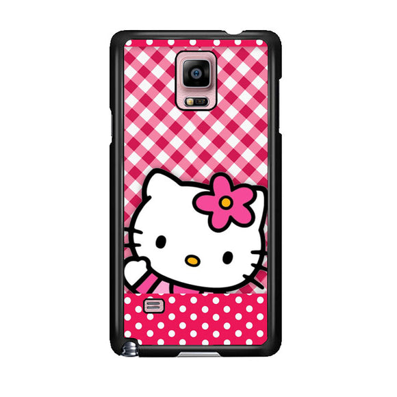 Hello Kitty Polkadot Samsung Galaxy Note 4 Case | Frostedcase