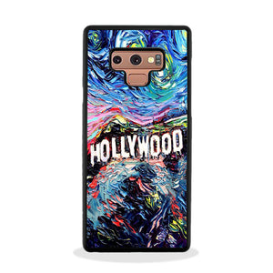 Hollywood Paint Art Poster Samsung Galaxy Note 9 Case Frostedcase