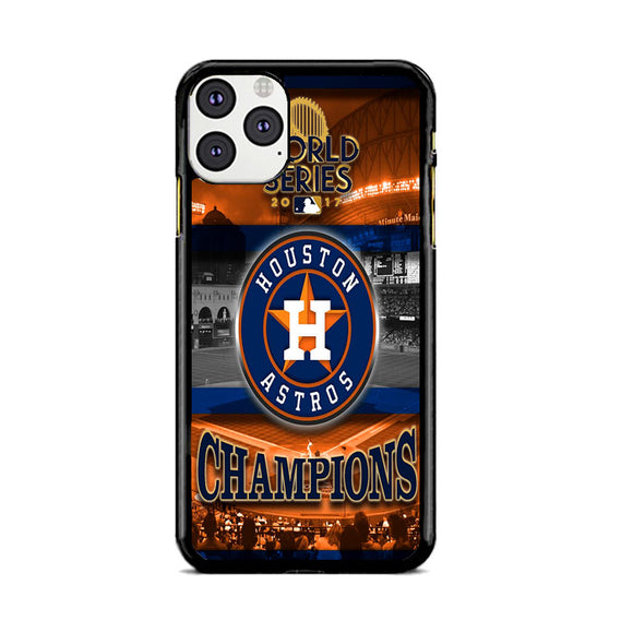Houston Astros Champion World Series iPhone 11 Pro Max Case | Frostedcase