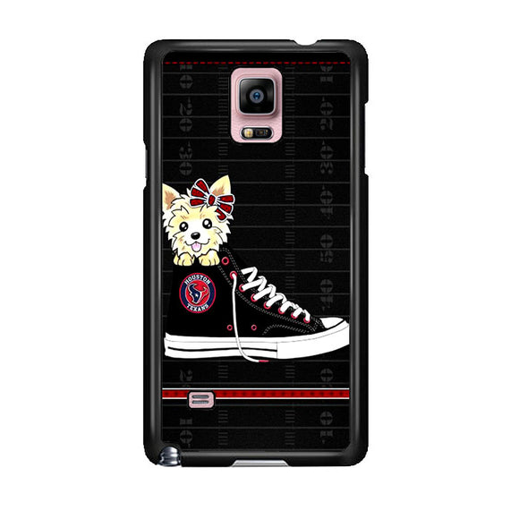 Houston Texans High Waist And Dog Samsung Galaxy Note 4 Case | Frostedcase