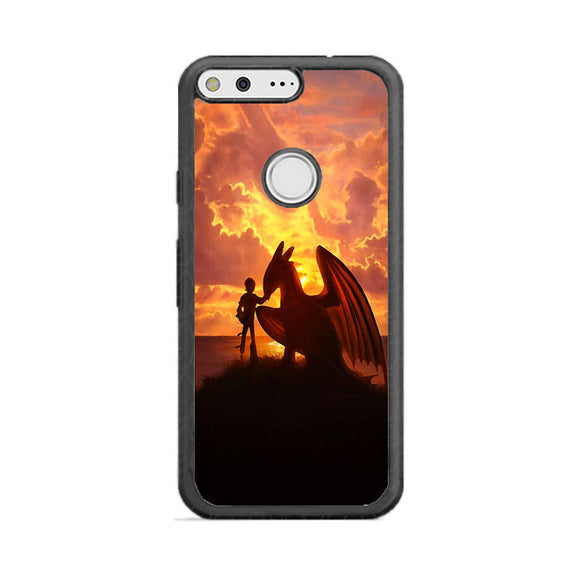 How To Train Your Dragon The Hidden World Sunset Google Pixel Case | Frostedcase