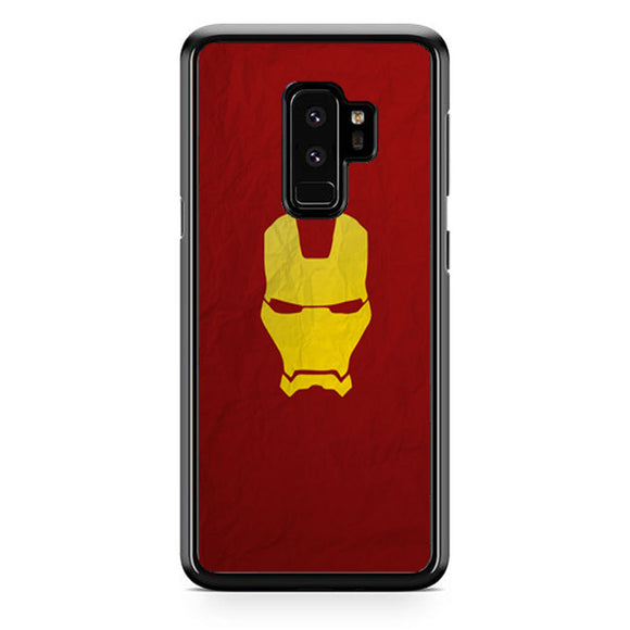 Iron Man Red Gold Samsung Galaxy S9 Plus Case | Frostedcase