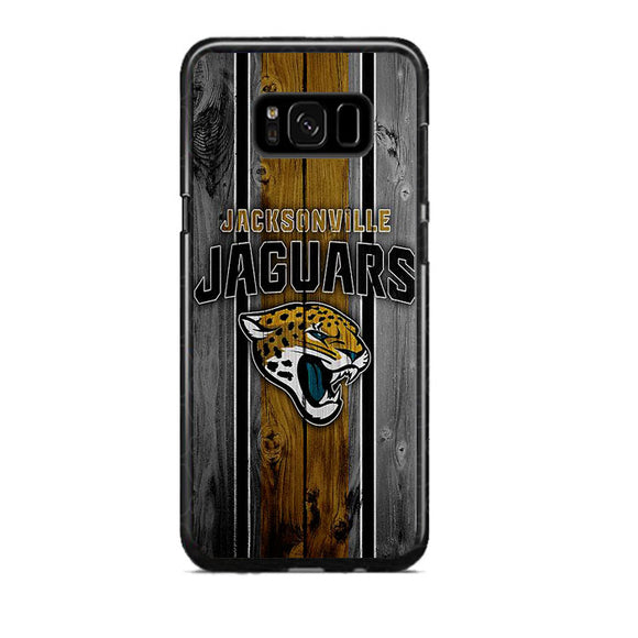 Jacksonville Jaguars Football Team Wood Samsung Galaxy S8 Plus Case | Frostedcase