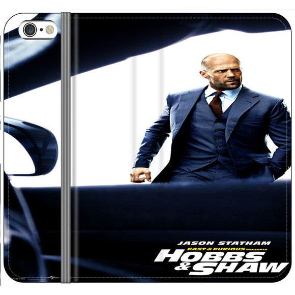 Jason Statham Fast & Furious X Hobbs & Shaw Summer iPhone 6 Plus|6S Plus Flip Case | Frostedcase