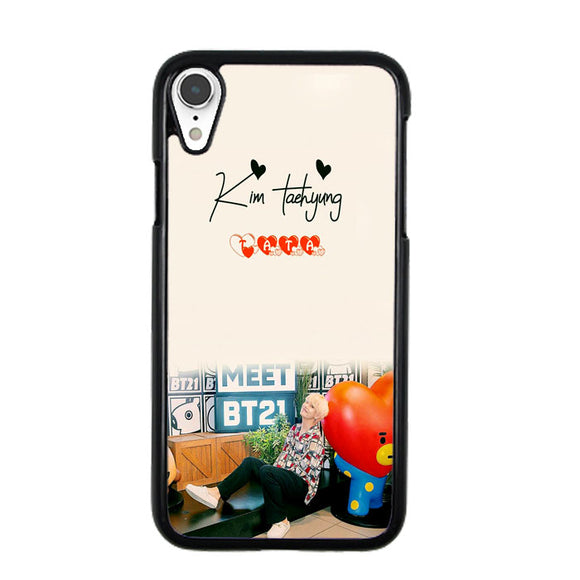 outlet store f4446 21d7e Kim Taehyung X Bt21 iPhone XR Case | Frostedcase