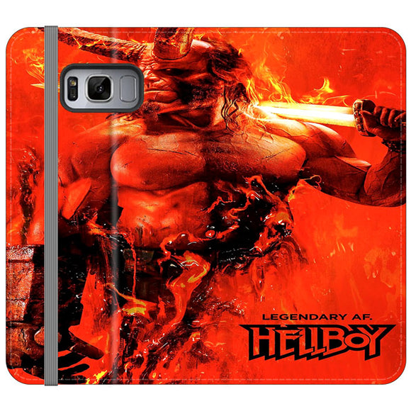 Legendary Hellboy 2019 Samsung Galaxy S8 Plus Flip Case | Frostedcase