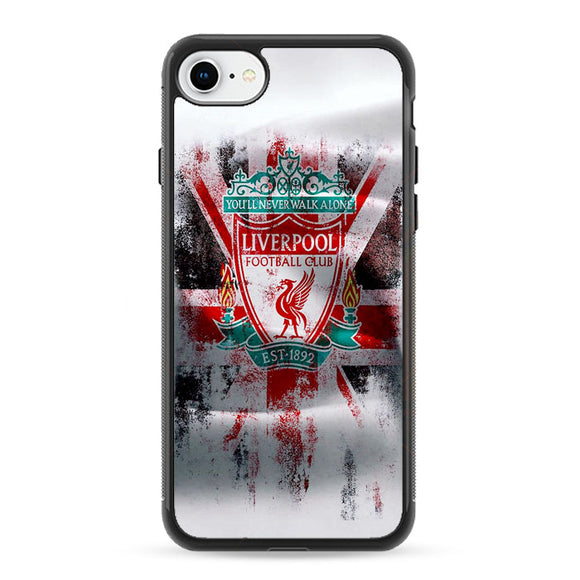 Liverpool Fc Paint Art iPhone 8 Case | Frostedcase