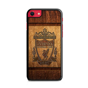 Liverpool Fc Wooden Engraving iPhone SE Case | Frostedcase
