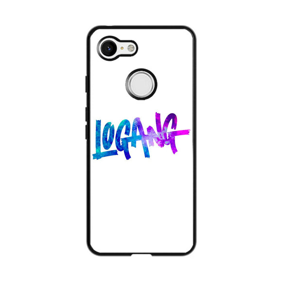 Logang Blue Purple Google Pixel 3 Case | Frostedcase